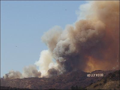 Hollywood burning 2007