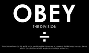 OBEY the Division
